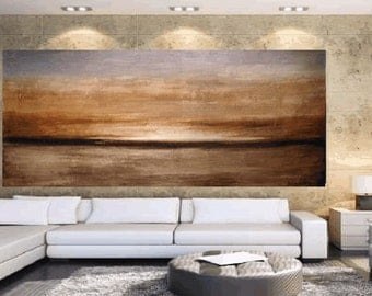 """Art Painting 72"""" landscape painting  oil painting  abstract  painting ,Acrylic painting Wall Decor wall hangings"""