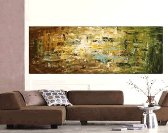 """72"""" abstract painting original painting contemporary art from jolina anthony signet  express shipping"""