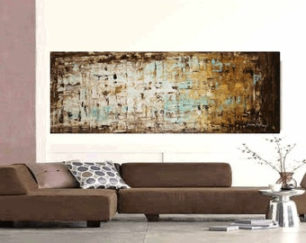 """painting  abstract painting wall art jolina anthony 72"""" xxl large painting"""