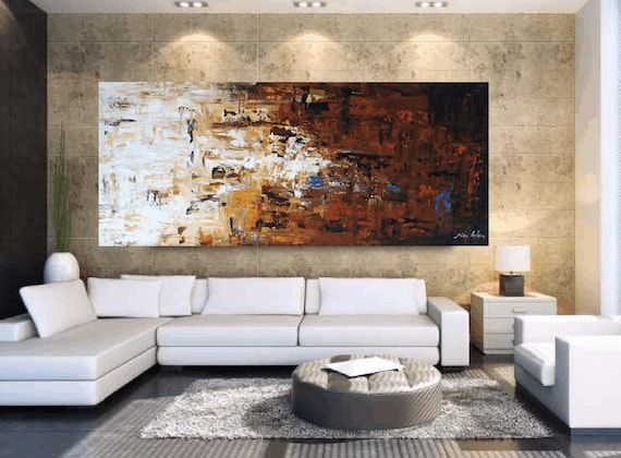 "original Acrylic Painting 72"" Abstract painting from Jolina Anthony"