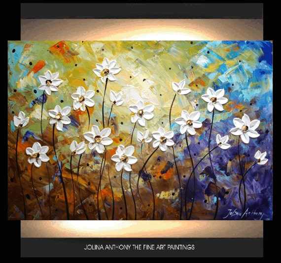 painting original abstract painting flower landscape painting from Jolina Anthony fast and free shipping