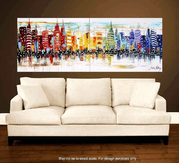 72 art original painting abstract painting large by. Black Bedroom Furniture Sets. Home Design Ideas