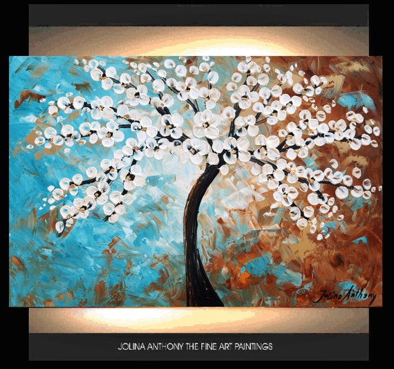 original jolinas one of a kind impasto abstract painting from listed artist jolina anthony extrem fast shipping