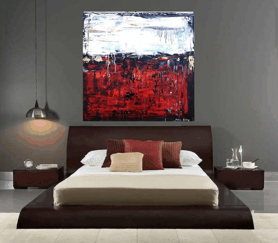 "art painting 36"" large painting abstract painting from listed artist jolina anthony wall decor for your rooms"