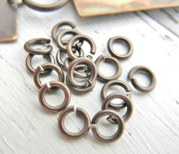 Vintaj 5.25mm Jump Rings. Pack of 20.  18g