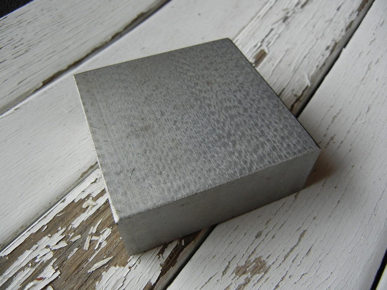 Metal Stamping Steel Bench Block 4 X 4 X