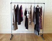 Clothing Rack - GALVANIZED STEEL