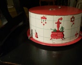 Vintage Cake Carrier or Cake Dome