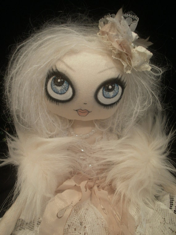 Victorian Ghost Cloth Doll RESERVED for LisaMaree