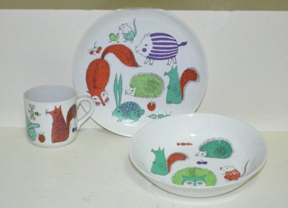 On hold for Sophia - Arabia - Children's Dish Set
