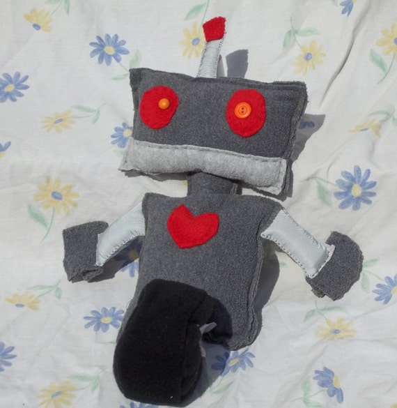 Rob Ot Stuffed Fleece Robot