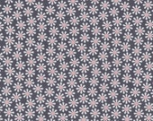 Daisy Flower Fabric in  Bloom by Michael Miller - 1 yard of  cotton fabric