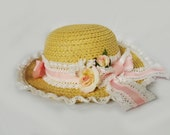 Summer Straw Sweet Country Lolita Picnic Hat