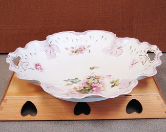 Antique Hand Painted Rosenthal B R C Voltaire Bowl.