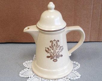 PFALTZGRAFF Pottery VILLAGE Tea Coffee Pot Server For 4 Model 6-550.