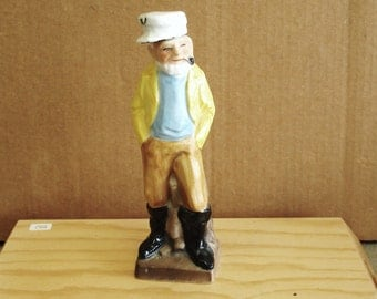 Vintage SEAFARER Porcelain After Shave Lotion BOTTLE.