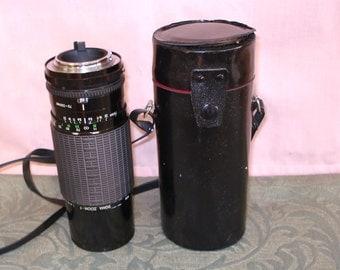 SIGMA Zoom Multi Coated Camera Lens f 75 250 mm For Minolta.