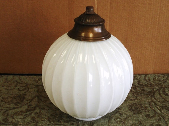 Vintage Milk Glass Light Lamp Chandeliers Shade