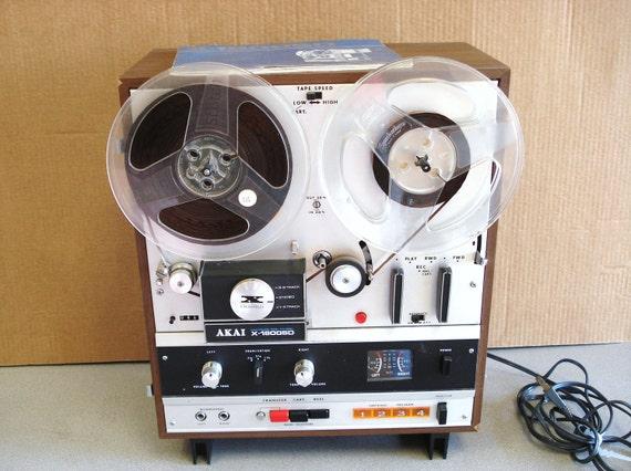 Vintage Akai Reel To Reel Player Recorder Model By Npebaysale