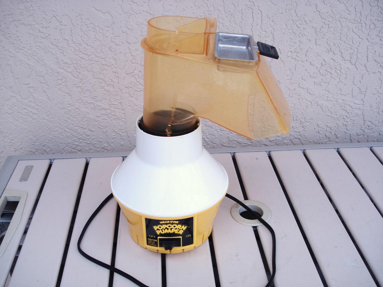 Vintage Wearever Electric Popcorn Pumper Hot Air Corn Popper