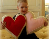 Heart Pillow of  Eco Friendly Felt