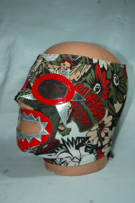 Smack Mash Wrestling Mask