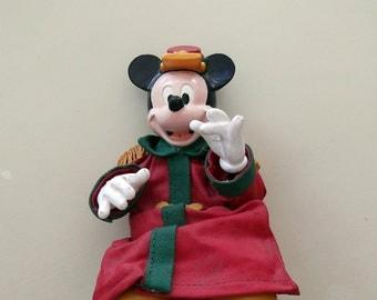 Vintage Disney/Mickey Mouse Figure Kurt Adler RARE