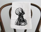 Tea Towel, strange towel, flour sack towel, dish towel, kitchen towel