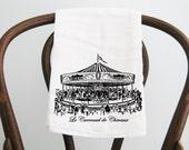 Flour Sack Towel Carousel