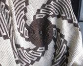 Apachi Vortex Afghan Crochet Pattern