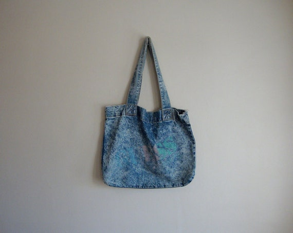 Guess Denim Tote Bag - Retro GUESS
