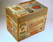Recipe Box Domestic Goddess Vintage Ad Custom Handmade 4x6 Wooden Recipe Box Address Trinket Box