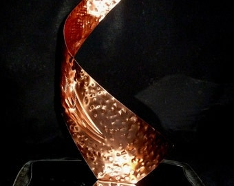 "Copper Art Sculpture by Dennis Boyd (DB Designs - Creating Metal ""works of art"") Sculpture 9"