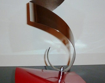 "Abstract Metal Art Sculpture by Dennis Boyd (DB Designs - Creating Metal ""works of art"") Sculpture 13"