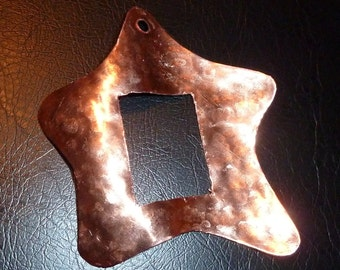 "Copper Star Ornament by Dennis Boyd (DB Designs - Creating Metal ""works of art"") Ornament 2"