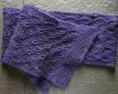SALE PATTERN Lacy Leaves Pdf Scarf Knitting Pattern
