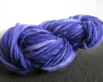 Handspun, Handdyed Merino Yarn