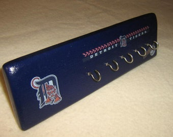 Detroit Tigers key rack (blue)