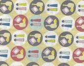 Crabtastic, Blend Fabrics, Condiments, 1/2 Yard