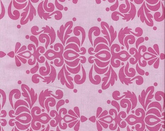 """Fabric Remnant, Soiree Pink, Moda Fabric 9"""""""