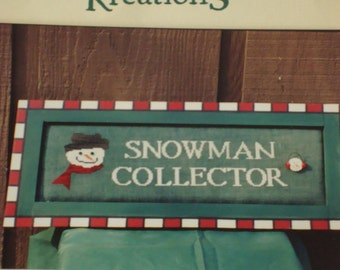 Snowman Collector Pattern, Poppy Kreations