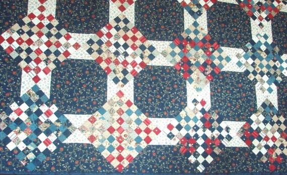Chippewa Nine Patch Quilt Kit 80 x 80
