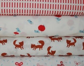 A Walk in the Woods by Aneela Hoey  for Moda, 1/2 yard bundle of 6