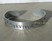 Aluminum Survivor Bracelet