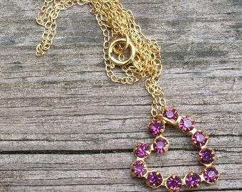 Swarovski  Valentine Heart Necklace in your color