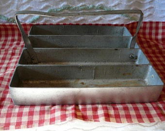 Galvanized Metal Carrier--Industrial Tray