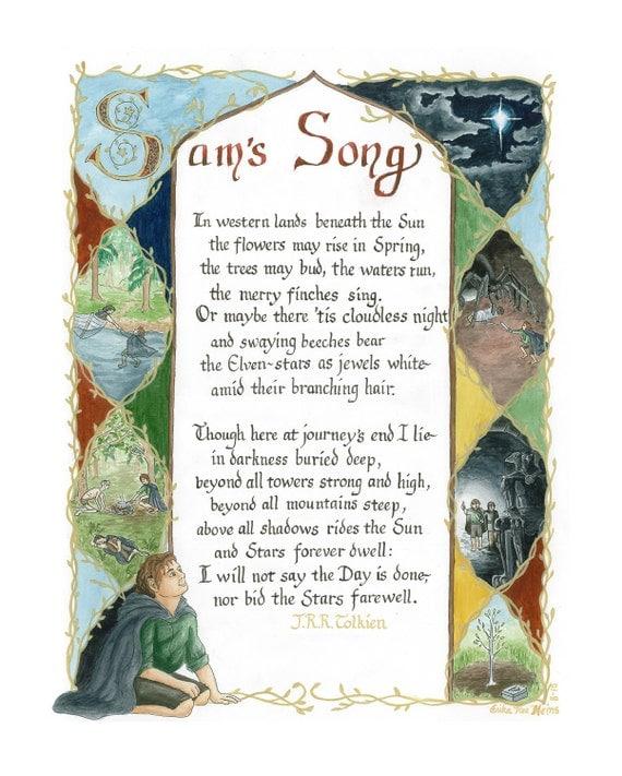 Sam's Song art print (small)