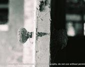 Dark and Light Doorknob Photo 4x6