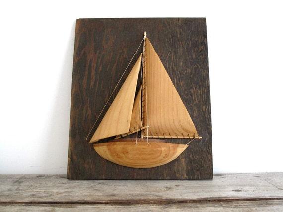 Vintage Boat - Nautical Wall Art, Display, Sail Boat, Sailor