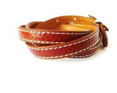 Multi Wrapped Brown Leather Bracelet